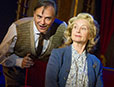 Brian Capron and Liza Goddard in The Smallest Show on Earth (photo Alastair Muir)