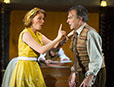 Laura Pitt-Pulford and Brian Capron in The Smallest Show on Earth (photo credit Alastair Muir)
